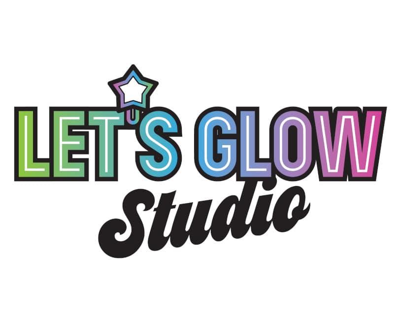 Let's Glow Studio Logo